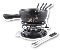 Swissmar Products Chocolate Cheese And Meat Fondue Sets