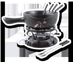 Appenzeller fondue set