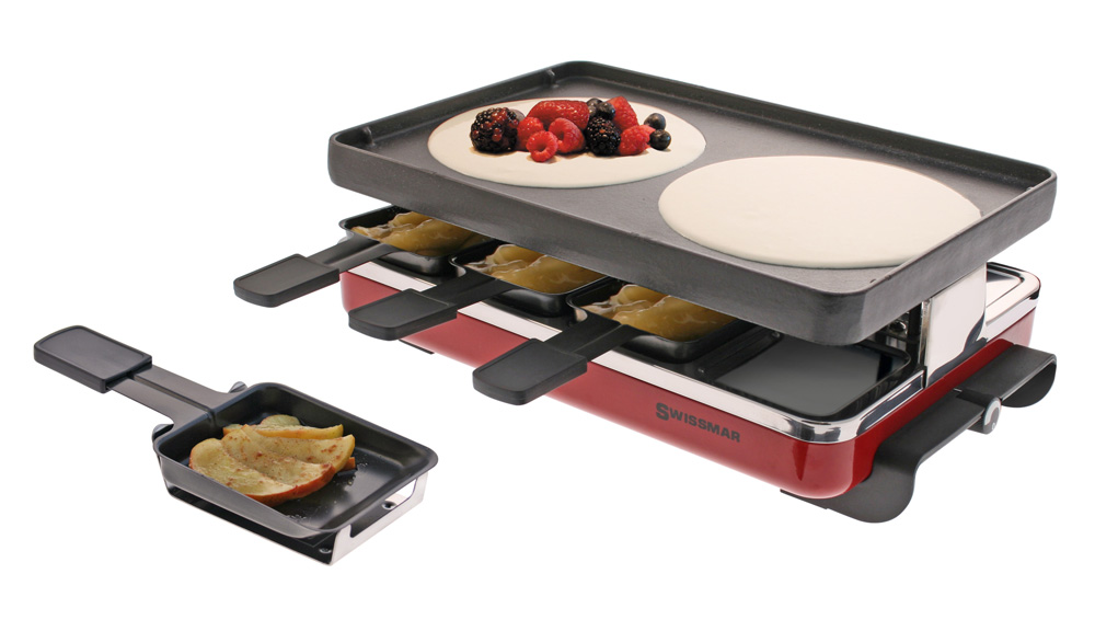 how to use a swissmar raclette